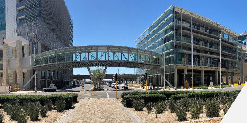Pedestrian bridge CTICC-01